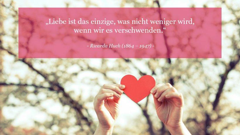 Zitate für Liebende - Bild der Frau