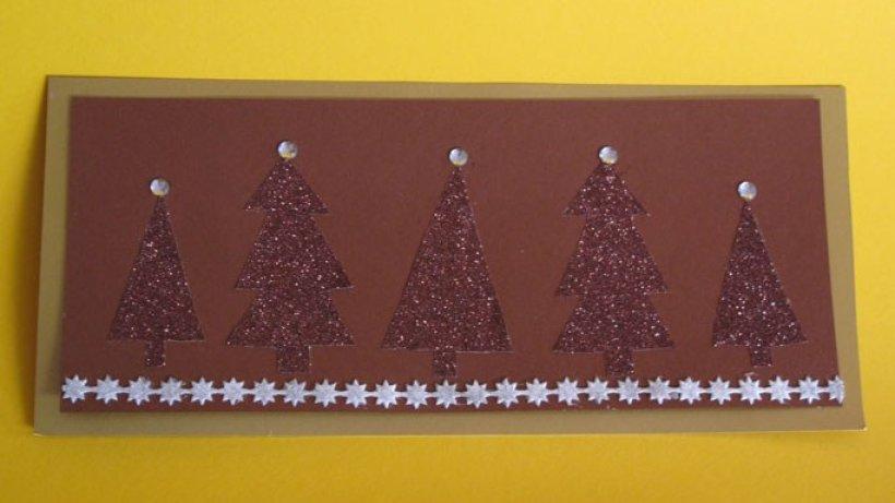 weihnachtskarten bild der frau. Black Bedroom Furniture Sets. Home Design Ideas