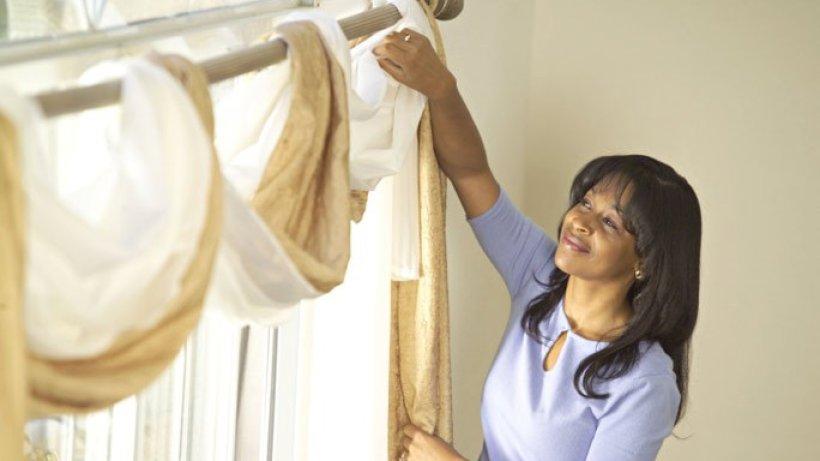 gardinen waschen. Black Bedroom Furniture Sets. Home Design Ideas
