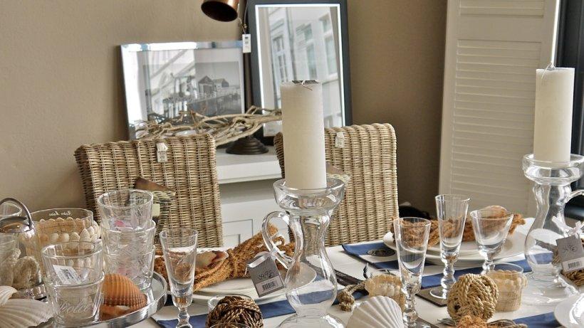 ein hauch von meer 9 tipps f r maritime tischdeko bild der frau. Black Bedroom Furniture Sets. Home Design Ideas