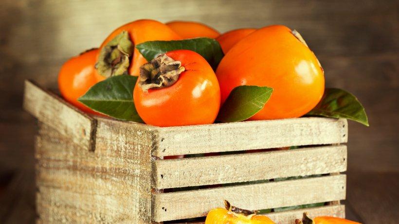warum kaki eine g ttliche frucht ist bild der frau. Black Bedroom Furniture Sets. Home Design Ideas