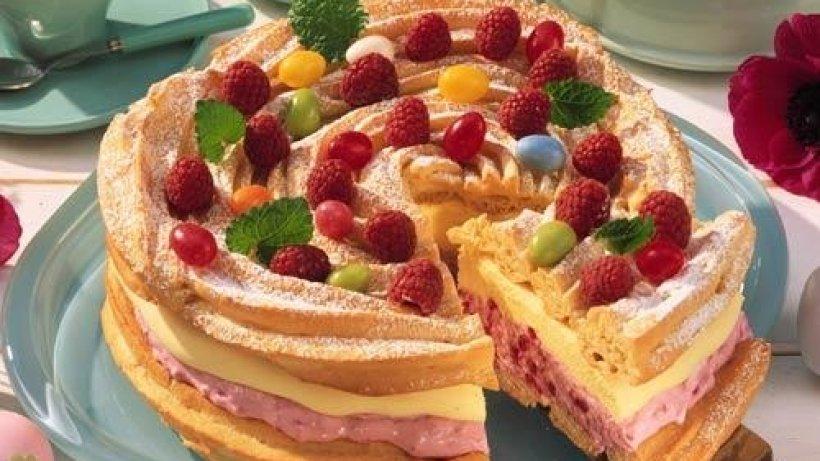 Торт с заварным тестом
