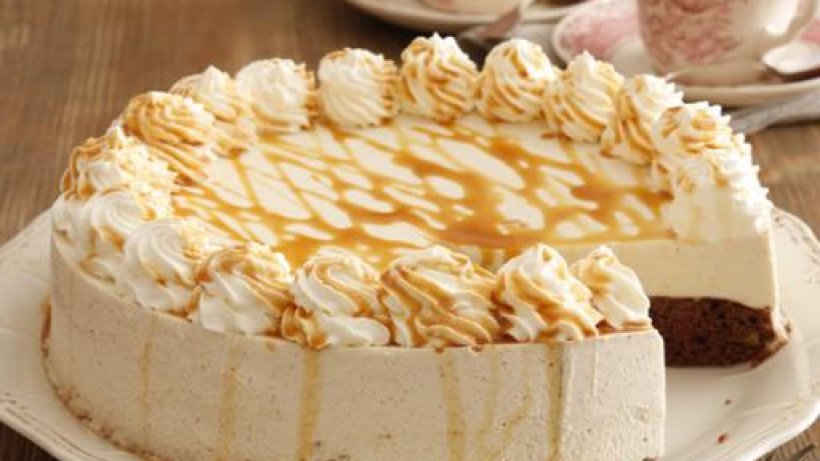Rezept für Karamell - Mascarpone - Torte Rezept