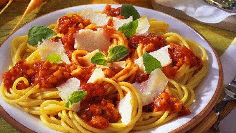 heute gibt 39 s vegetarische pasta. Black Bedroom Furniture Sets. Home Design Ideas